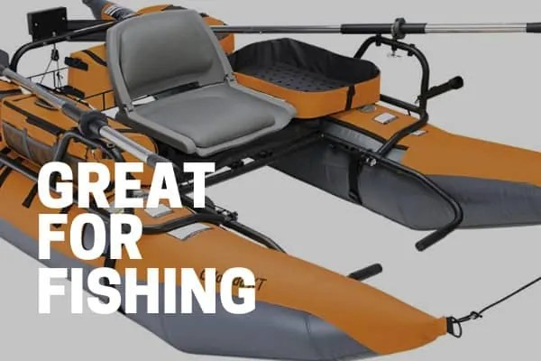 colorado xt fishing pontoon boat showing storage and accessories