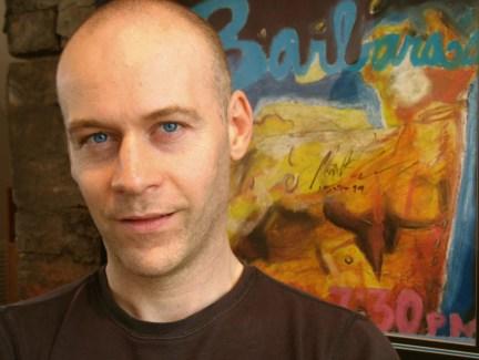 O escritor australiano Max Barry