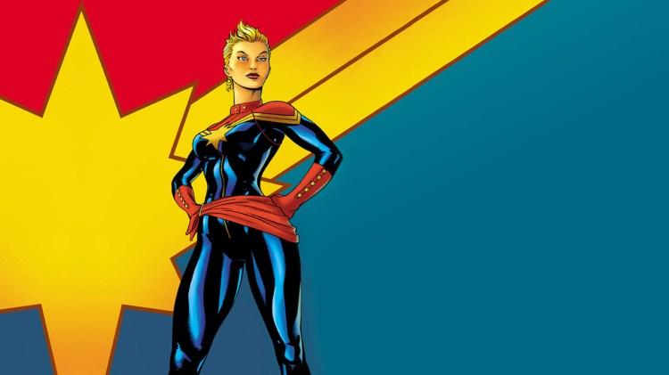 Carol Denvers, ex-Miss Marvel, atual Capitã Marvel