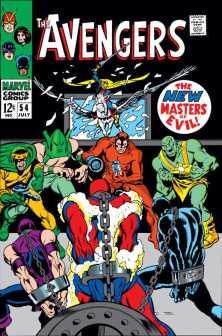 capa de Avengers #54