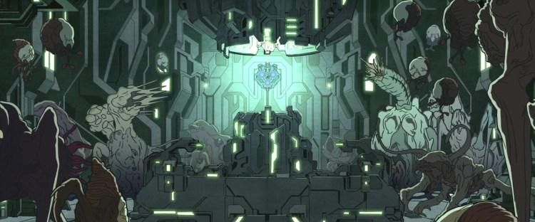Mendicant Bias, controlando a invasão Flood na versão da animação Halo Legends
