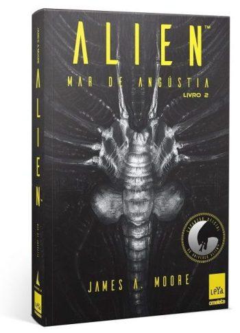 Trilogia Alien pela Editora Leya