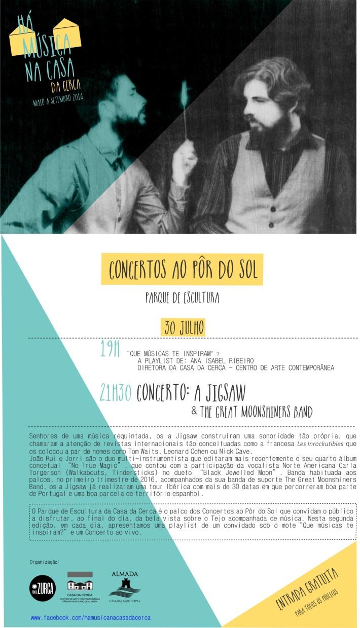 Concerto A JIGSAW _ 30 julho