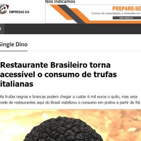 TARTUFERIA SAN PAOLO CURITIBA - EMPRESAS S/A