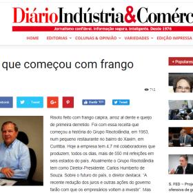 RISOTOLÂNDIA - DIÁRIO INDÚSTRIA & COMÉRCIO