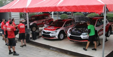 CR15 - two R5s and one S2000 Skoda - APSMtv