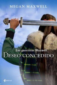 que libro leer portada deseo conocido megan maxwell espada