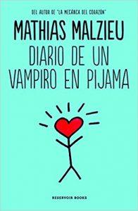 que libro leer portada diario de un vampiro en pijama muñeco de palitos cabeza corazon