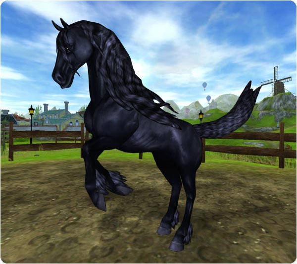 Star Stable Introduces Friesian Horse