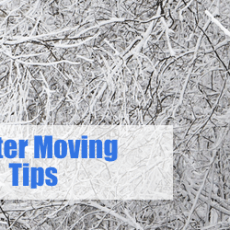 Five Tips for Moving in the Winter