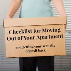 Final Moving Out Checklist