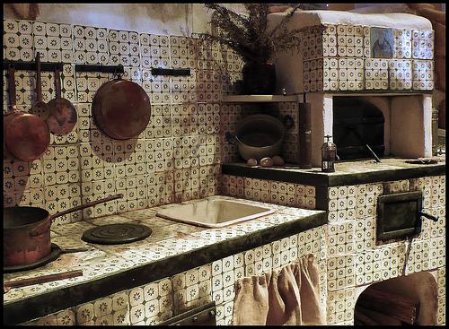 La vecchia cucina  Ponza Racconta