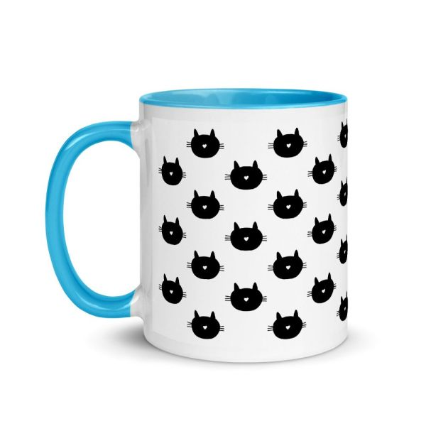 Colorful Coffee Mug for Cat Lovers
