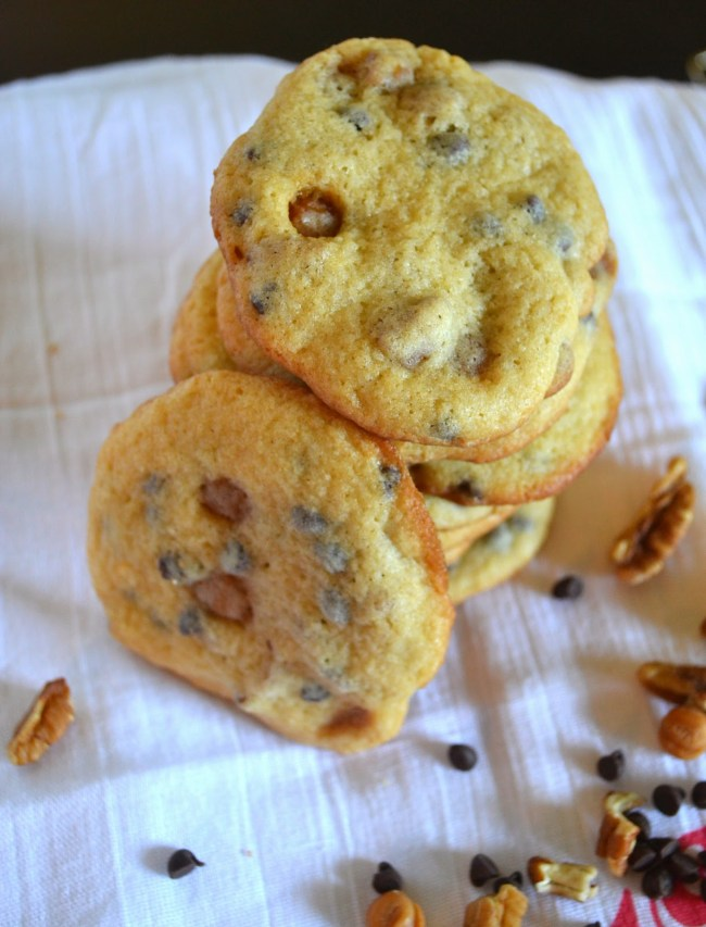 Turtle Cookie Recipe - an easy cookie with all the extras.