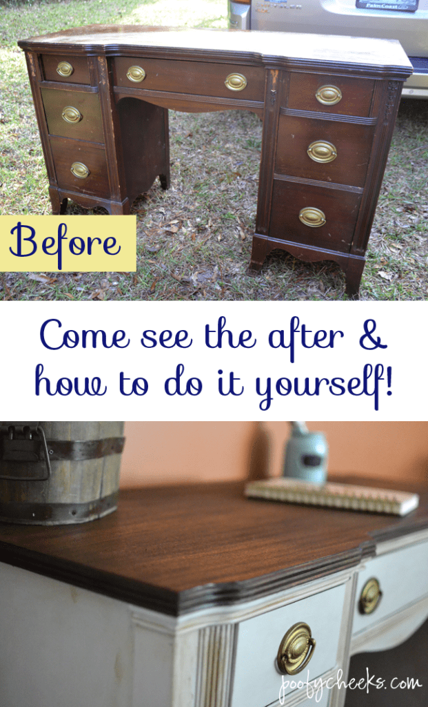 I Am Not Sure How Much The Desk Cost My Mother In Law But Since She Gave It  To Us It Was Free To Me. I Had Bought The Chalk Paint For It A ...