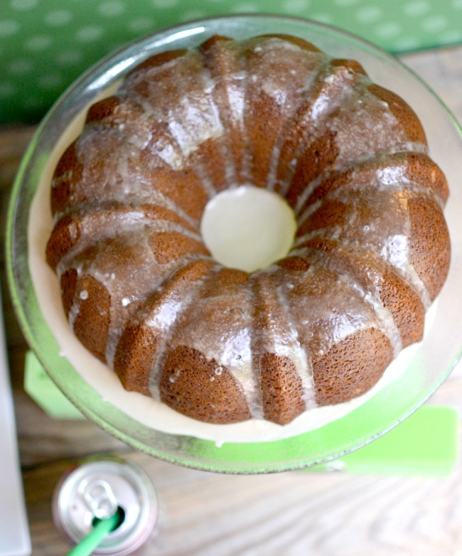 A family favorite cake! Dr Pepper Cake is moist and delicious with a Dr Pepper glaze.