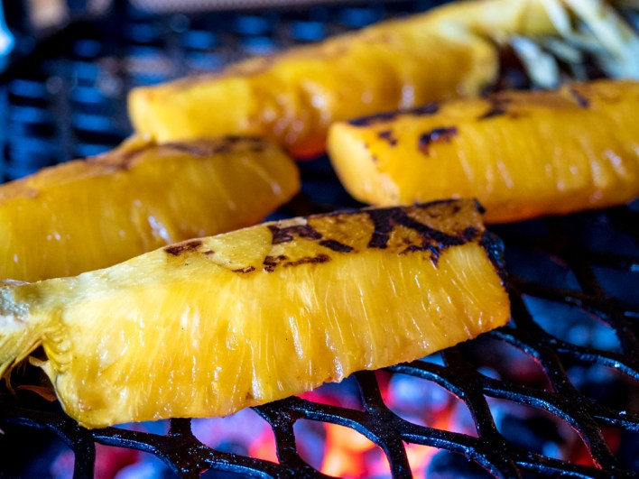 BBQ'd Pineapple