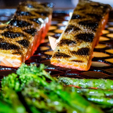 Wild Salmon on the BBQ