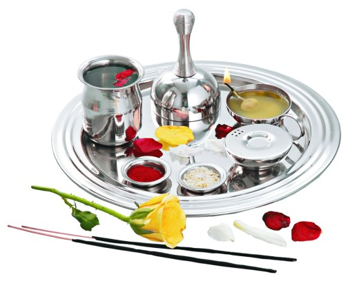 significance of various objects used in puja