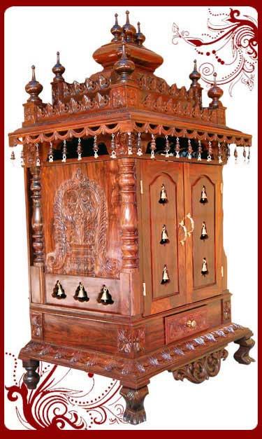 Wooden Pooja Temple Home  Pooja Mandir  Sale