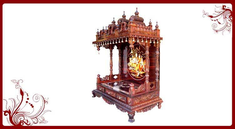 Indian Home Temple Designs  USA Home Temple Designs  Pooja Mandir