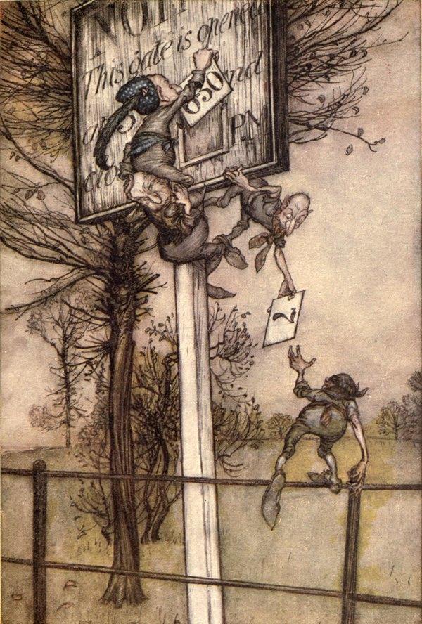 Pook Press Arthur Rackham Biography Books Art & Illustrations