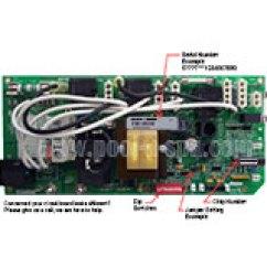 Cal Spa 5000 Wiring Diagram Ddec 2 Ecm Circuit Boards Replacements Repairs For Hot Tubs 55237 Board Vs300avr1