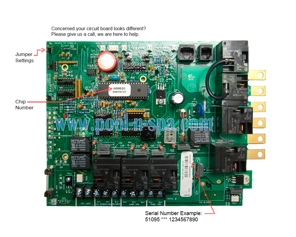 hight resolution of balboa 51095 circuit board 400r2 x coleman spas 101 118coleman spa wiring diagram