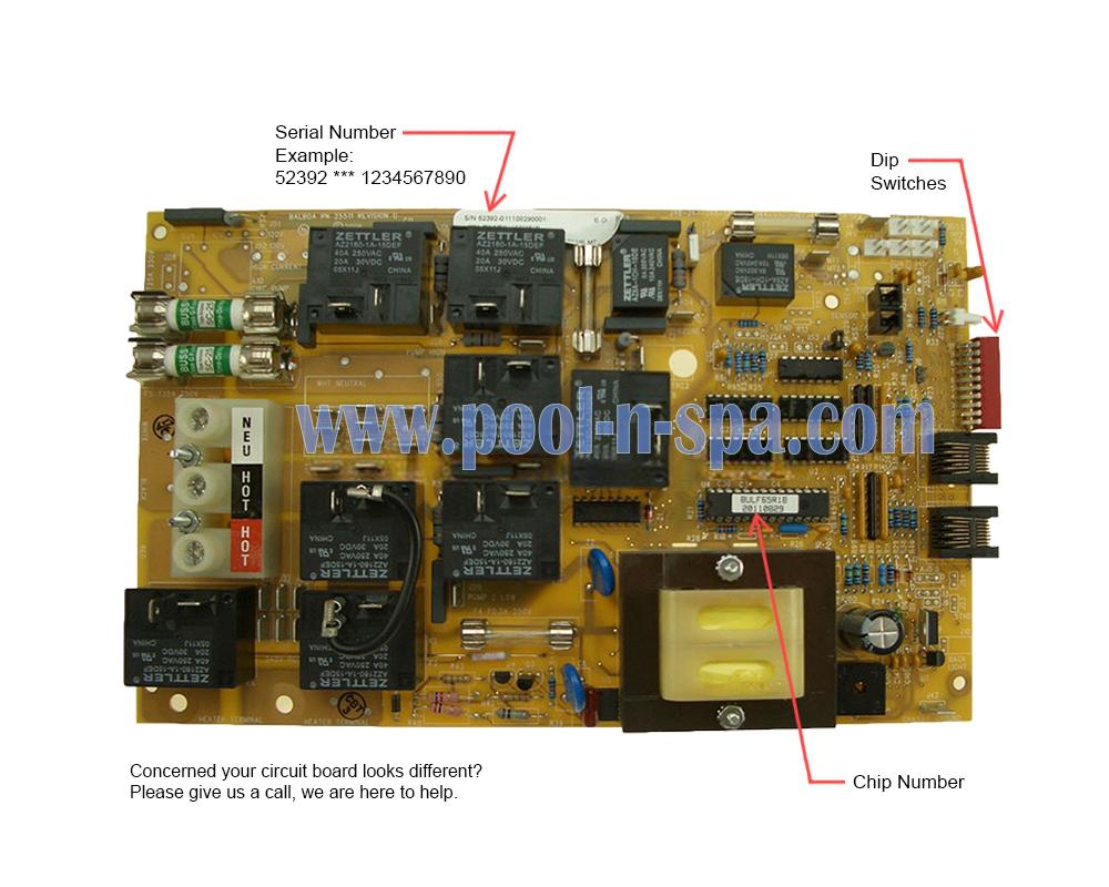 hight resolution of  balboa 52392 circuit board bulf65r1 x bullfrog spas 65 1040 on bullfrog