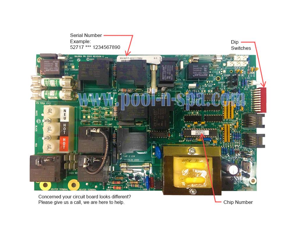 medium resolution of coleman spa wiring diagram manual e book balboa 52717 circuit board 630r1 x