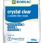 Crystallite filter media