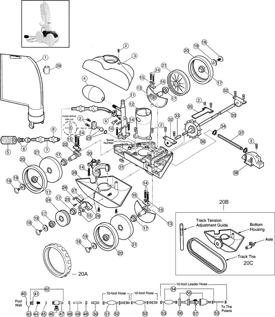 Aquabot Parts Diagram, Aquabot, Free Engine Image For User