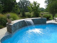 Swimming Pool Designs With Waterfalls | Design Ideas for House
