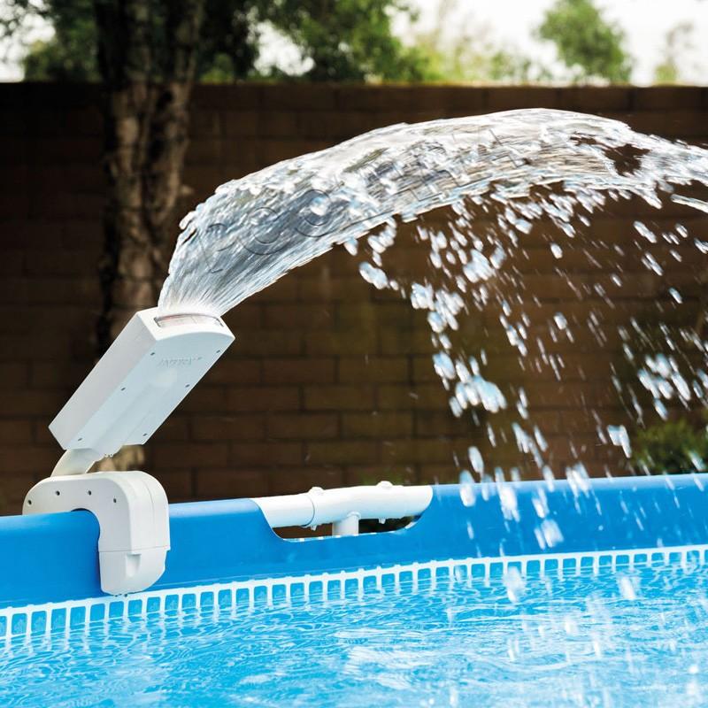 Fuente con LED multicolor para piscina Intex 28089  Poolaria