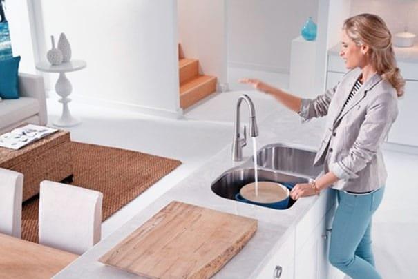 motionsense kitchen faucet from moen