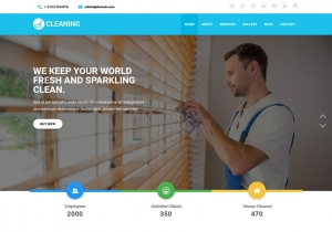 Cleaning Company Sample Website