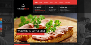Coffee Shop Website Web Design