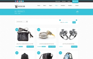 ECommerce Website Sample Web Design