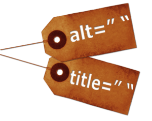 Alt and title tags