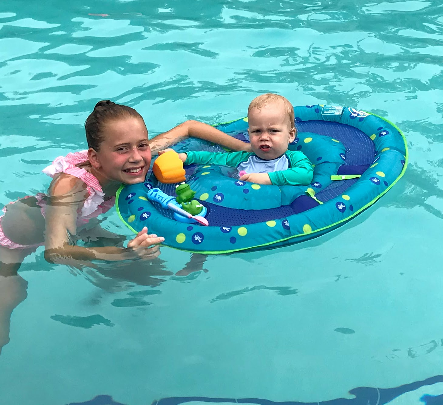 baby pool chair cheap table linens and covers fun swimming floats from reclining to spring