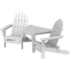 Polywood Adirondack Chairs Cheap 6 Chair Dining Tables Tete A Recycled Plastic Pool Picture Of