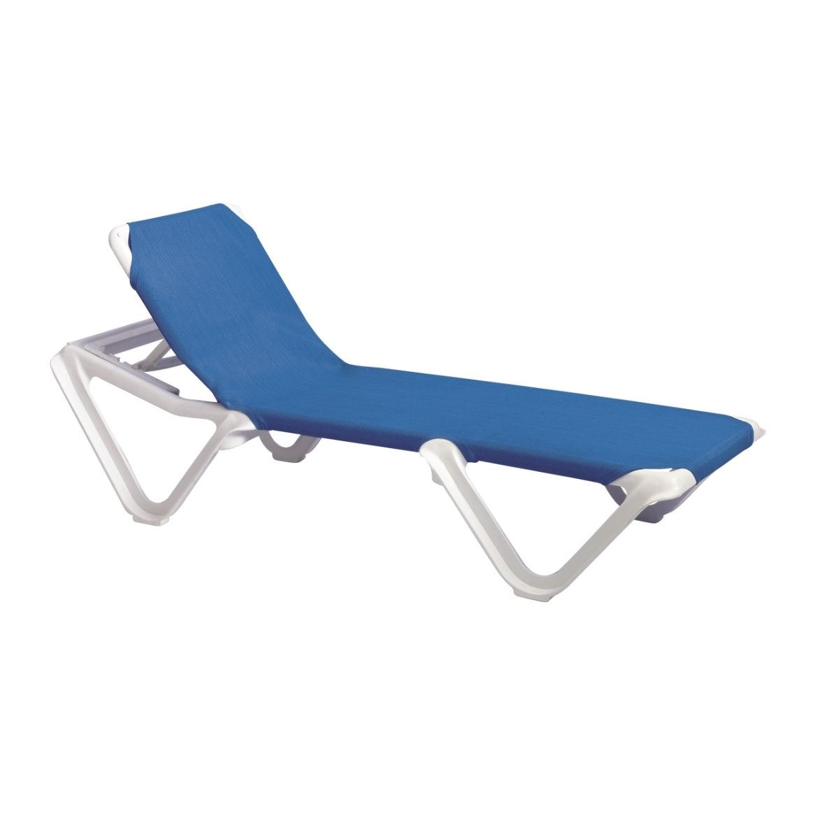 white plastic lounge chairs stackable mesh patio chaise frame sling resin nautical pool