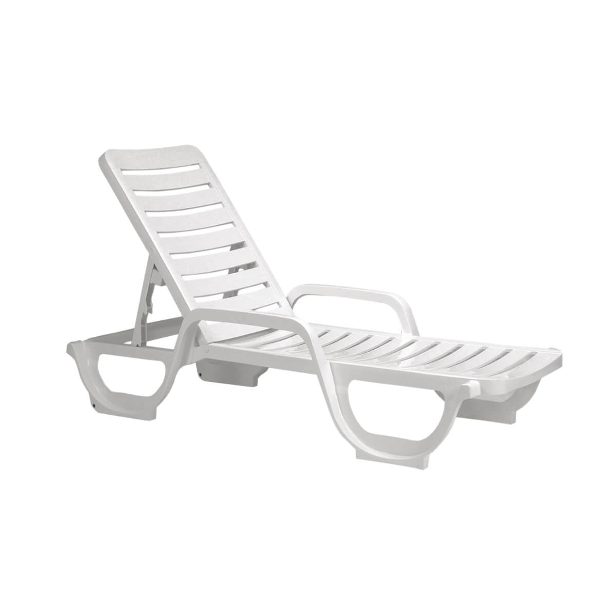 white plastic lounge chairs boardroom bahia resin chaise 30 lbs pool