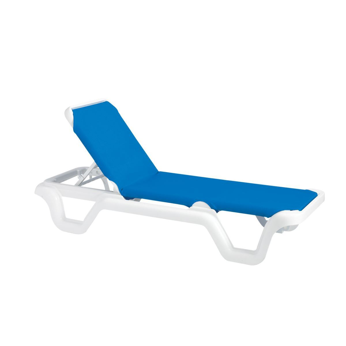 white plastic lounge chairs childs desk and chair chaise sling resin marina pool furniture