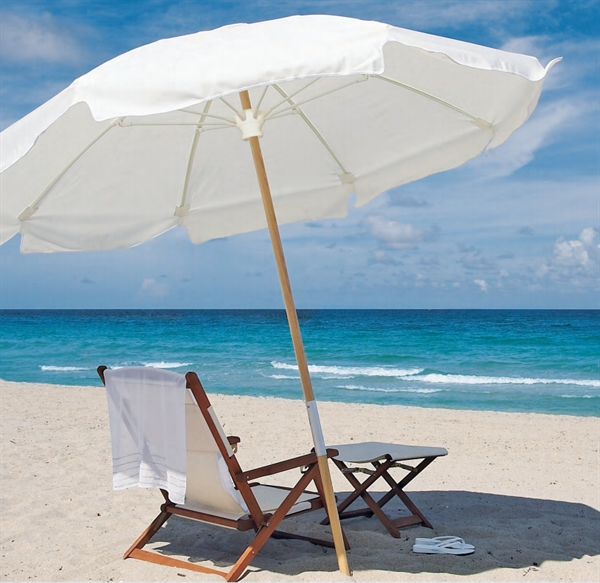 best beach chair with canopy ikea ekero covers pool furniture supply. umbrella 7 1/2 foot octagon marine grade fabric
