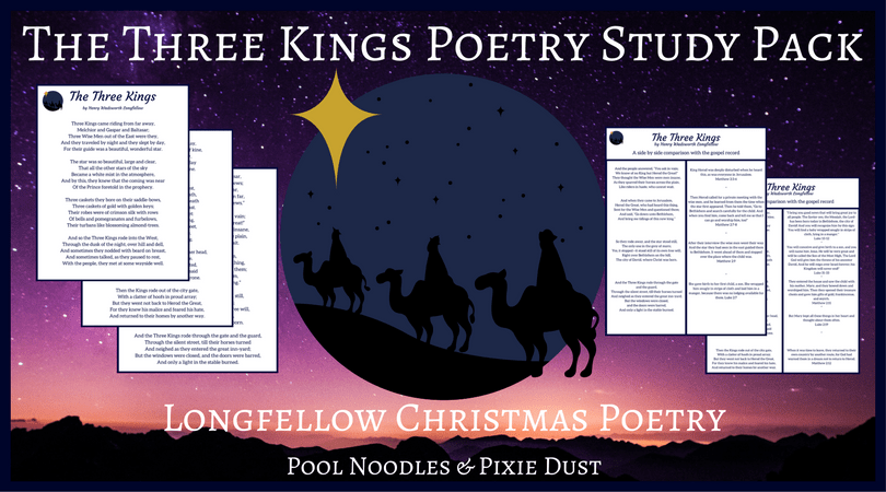 picture regarding Twas the Night Before Jesus Came Printable referred to as Xmas Poetry -The A few Kings - Pool Noodles Pixie Grime