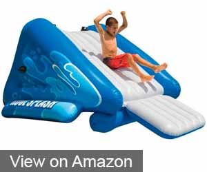 INTEX WATER SLIDE, INFLATABLE PLAY CENTER