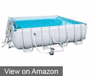 "BESTWAY 16"" X 48"" ABOVE-GROUND POWER STEEL FRAME POOL SET"