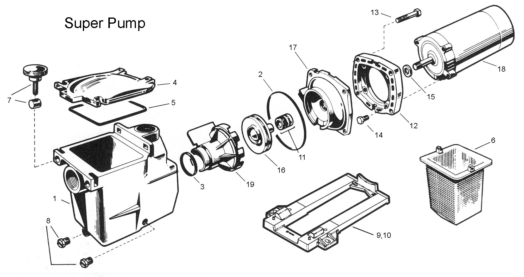 Hayward Super Pump Pump Housing Strainer 1 5 X 1 5