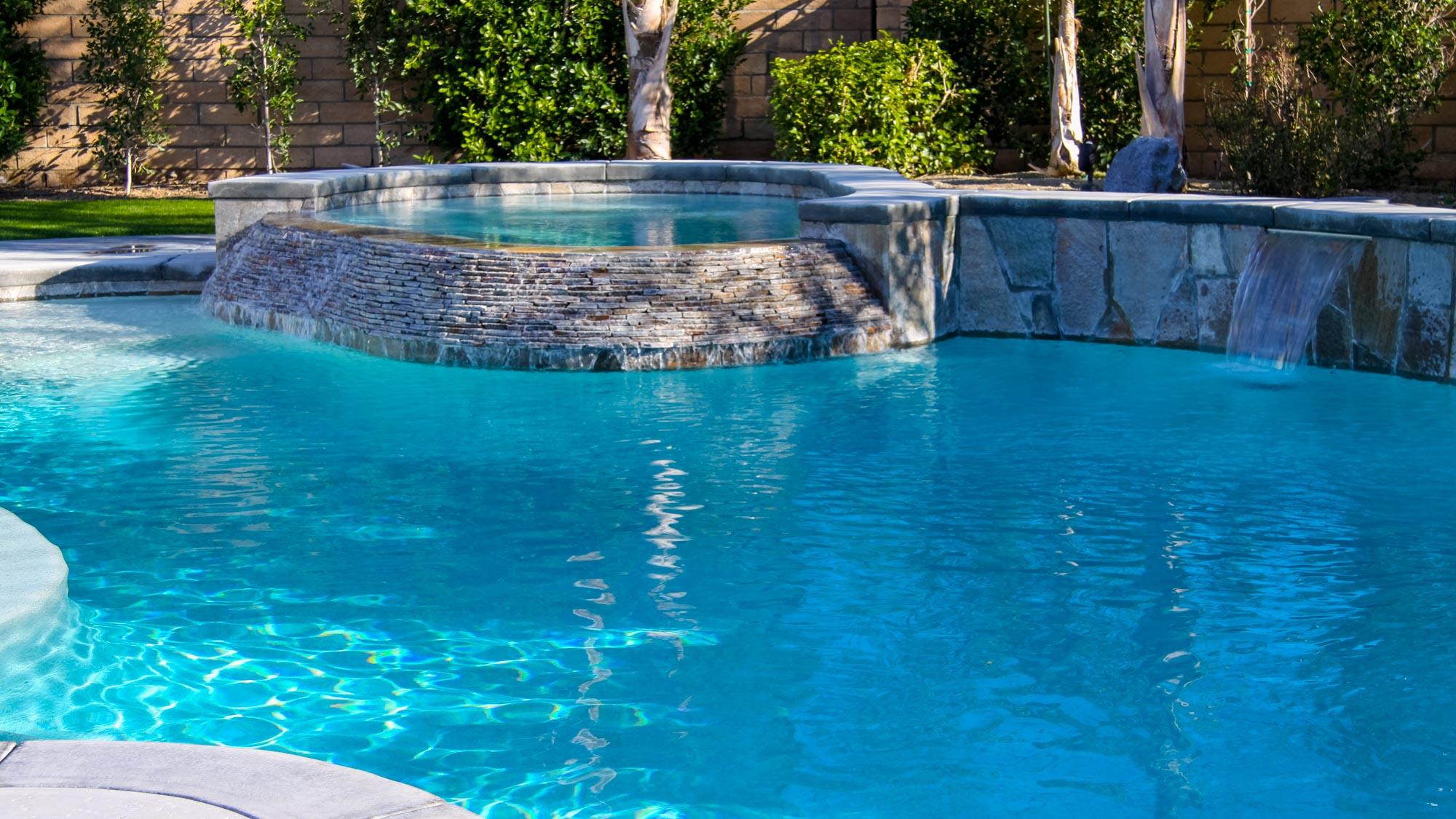 open kitchen island epoxy countertops poolside designs | swimming pool design gallery